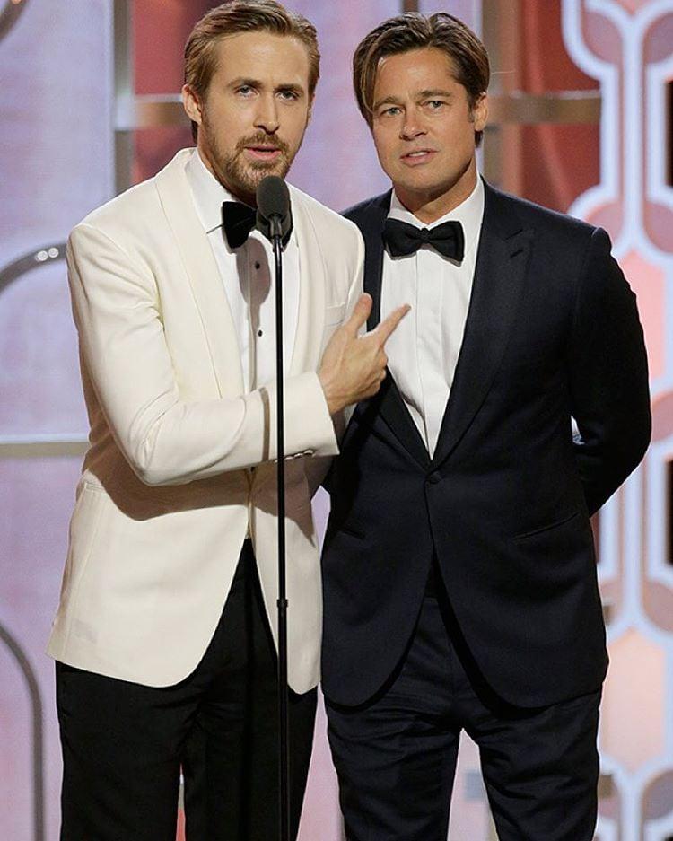 Ryan Gosling i Brad Pitt/Instagram: @buro247ru
