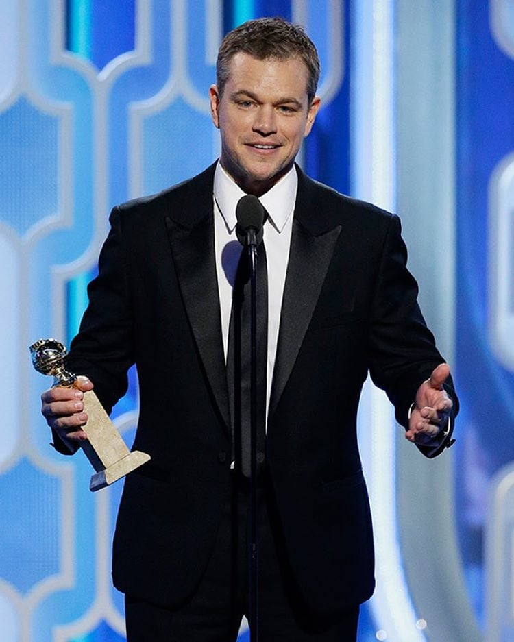 Matt Damon/Instagram: @buro247ru
