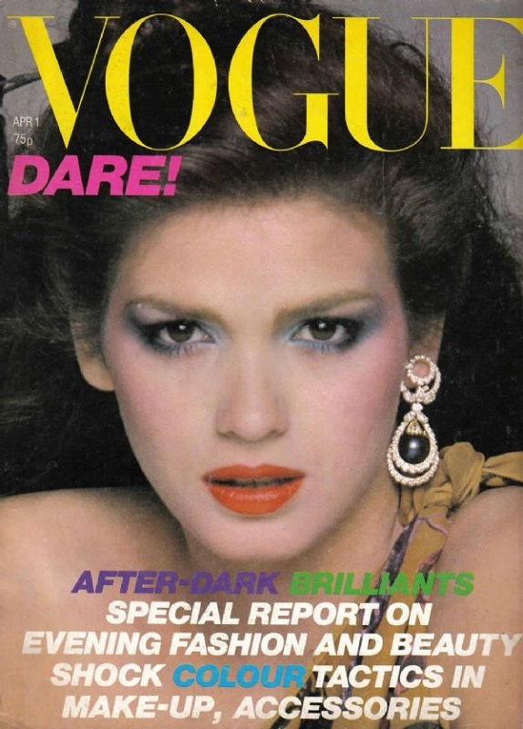 Brytyjski Vogue kwiecień 1979