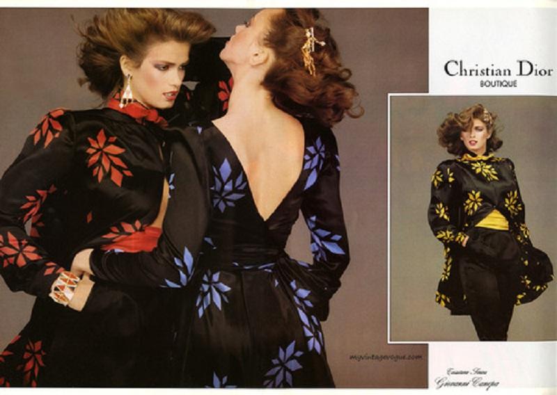 Kampania Dior jesień-zima 1979