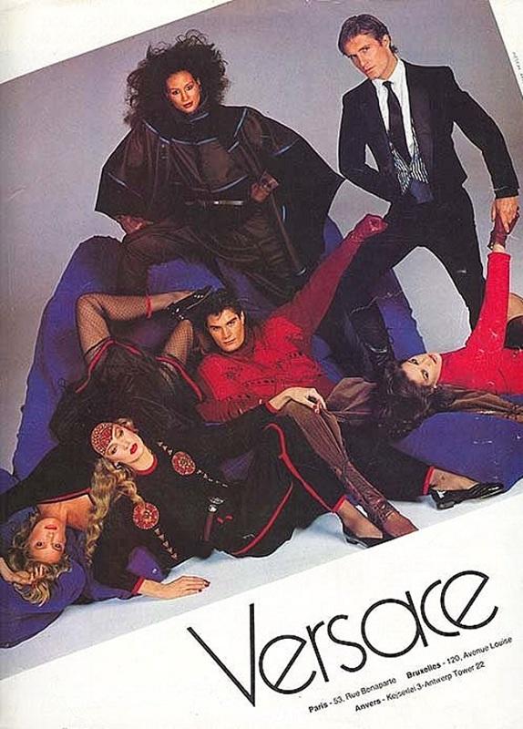 Kampania Versace jesień-zima 1982
