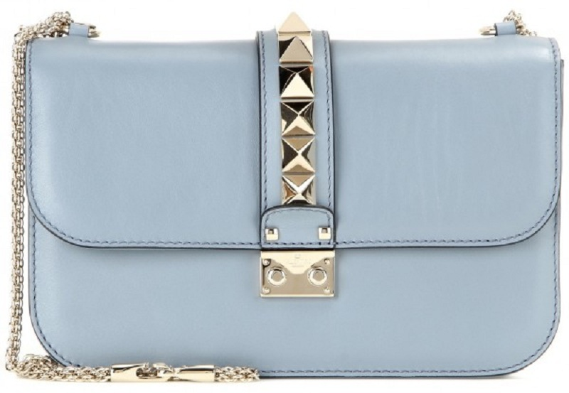 Valentino - Medium Lock Flap Bag