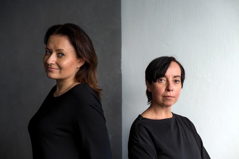Założycielki marki Moove - Wiola Możyszek i Małgorzata Czudak
