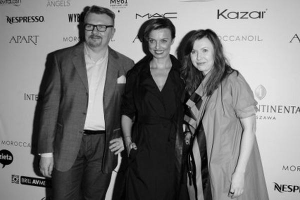 Rafał Michalak, Katarzyna Sokołowska i Ilona Majer/fot. MW Media