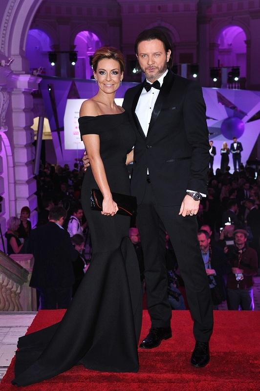 Małgorzata Rozenek i Radosław Majdan/fot. MW Media