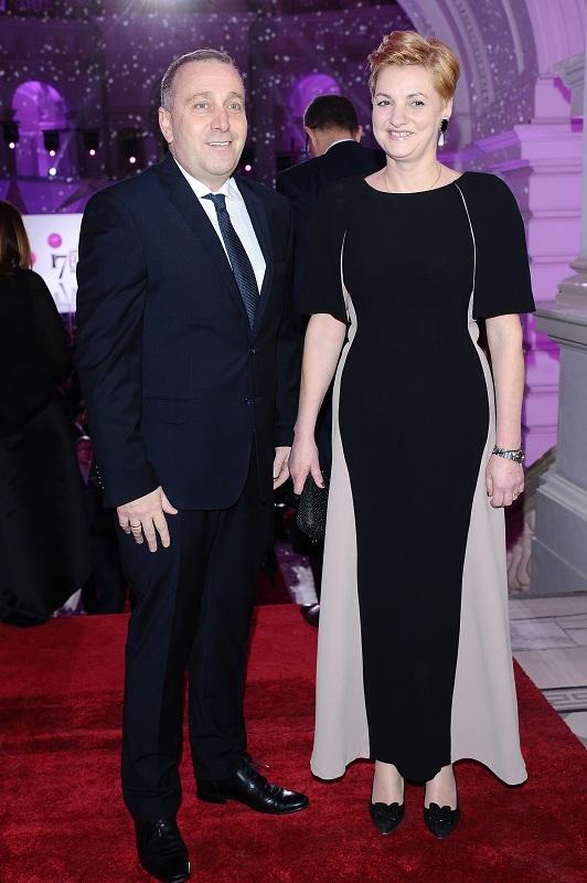 Grzegorz Schetyna z żoną/fot. MW Media