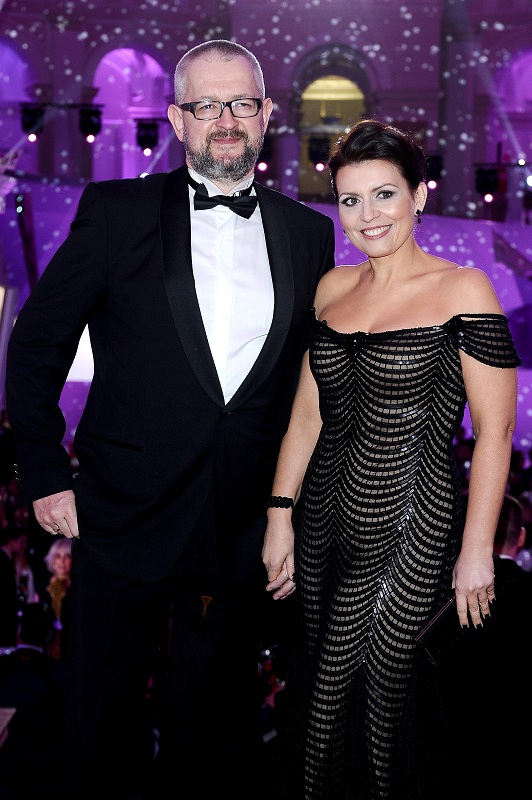 Rafał Ziemkiewicz z żoną/fot. MW Media