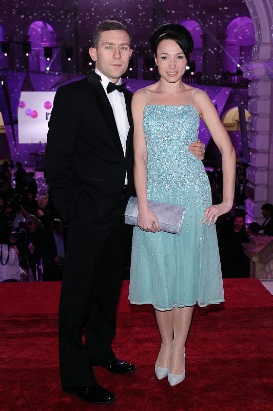 Karolina Borkowska z mężem/fot. MW Media