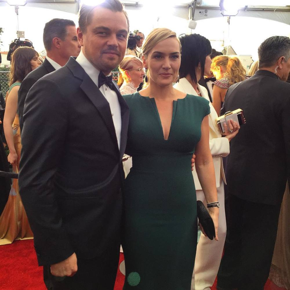 Kate Winslet i Leonardo DiCaprio/Instagram: @sagawards