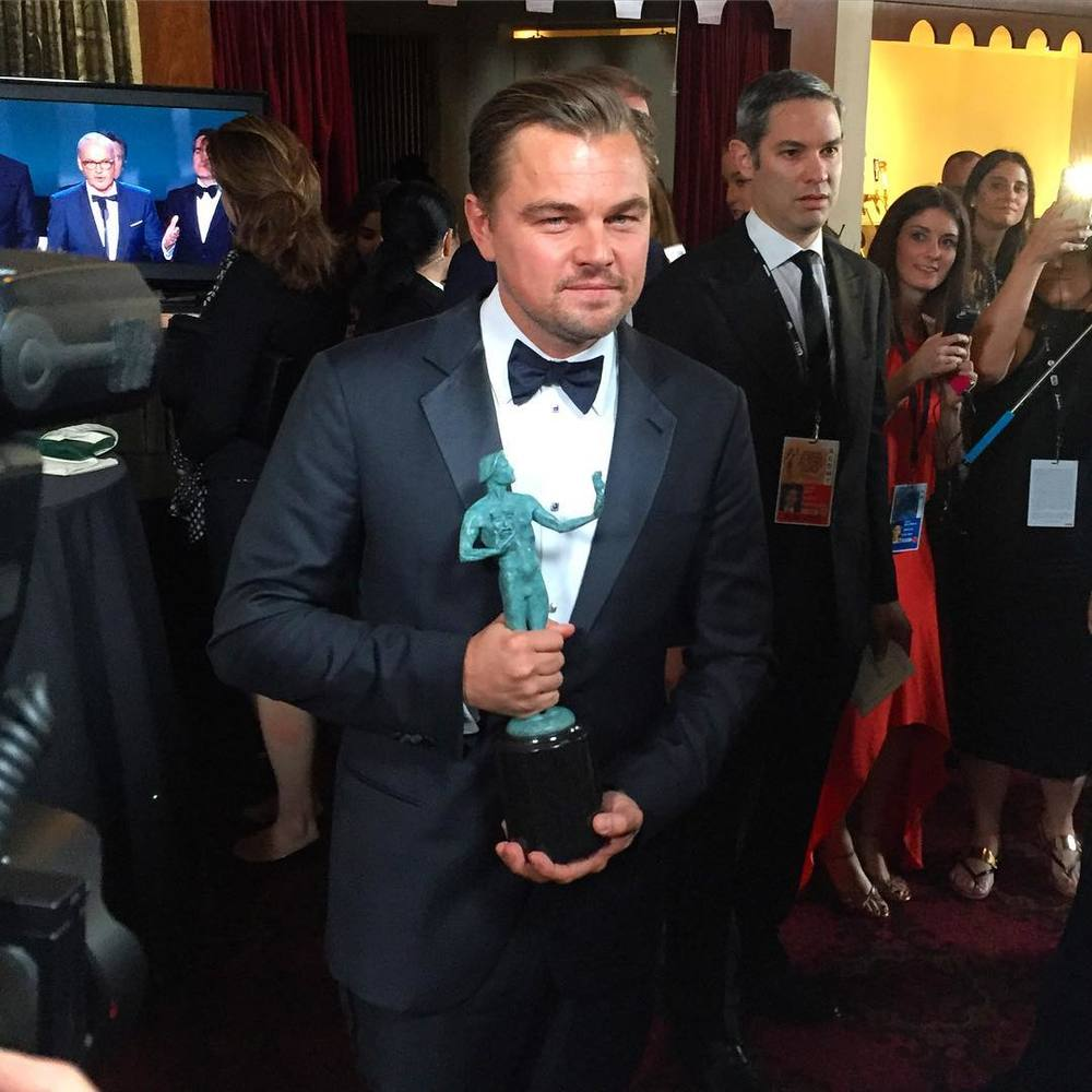 Leonardo DiCaprio/Instagram: @sagawards