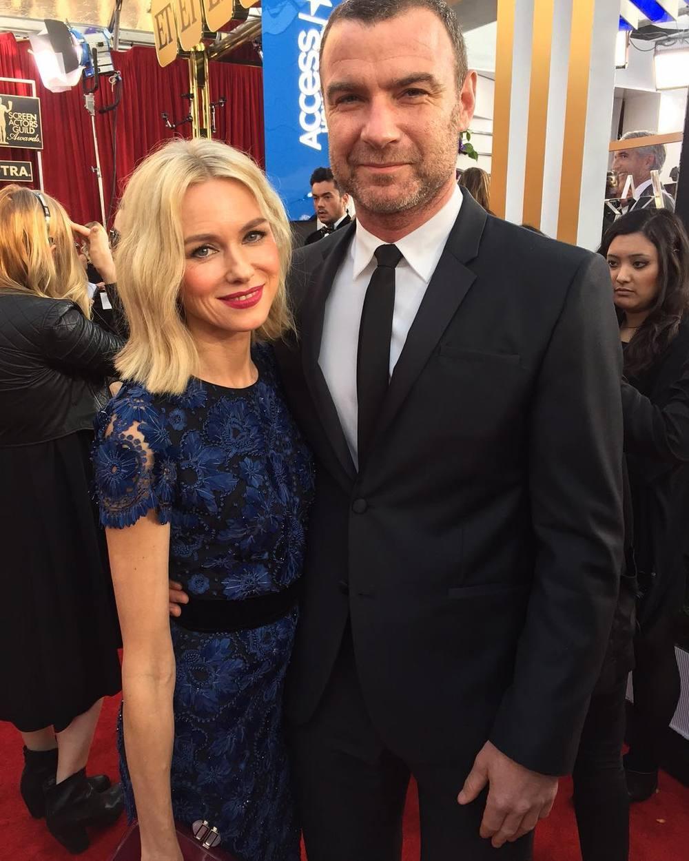 Naomi Watts i Liev Schreiber/Instagram: @sagawards