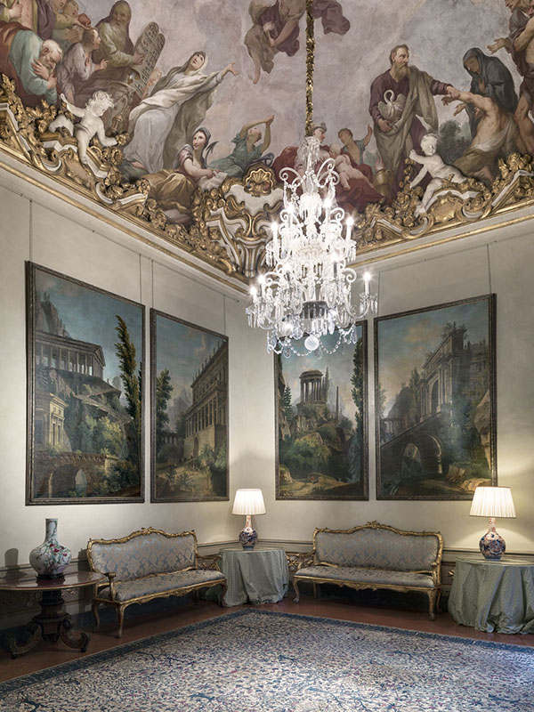 Wnętrza Palazzo Spini Feroni/fot. Muzeum Salvatore Ferragamo