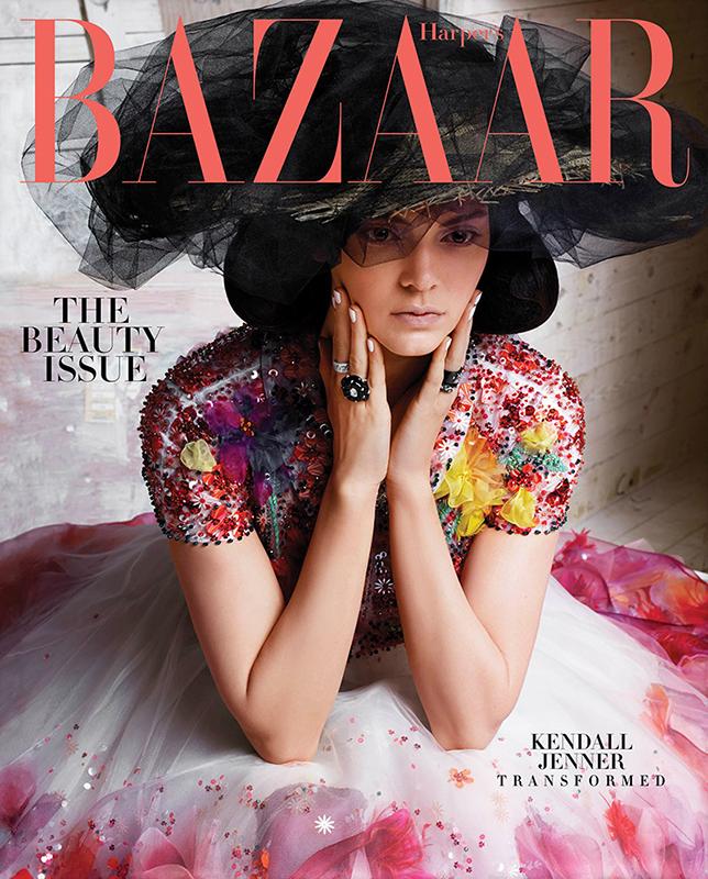Kendall Jenner na okładce Harper's Bazaar