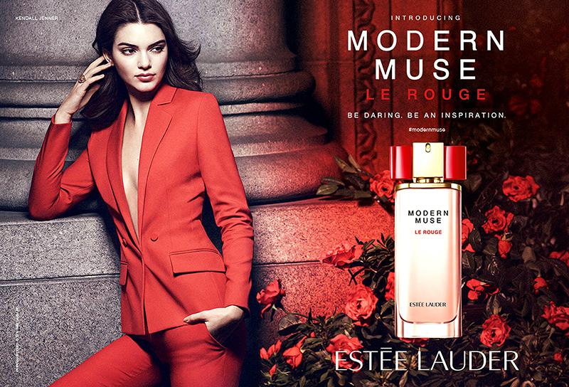 Kendall Jenner w kampanii Estee Lauders