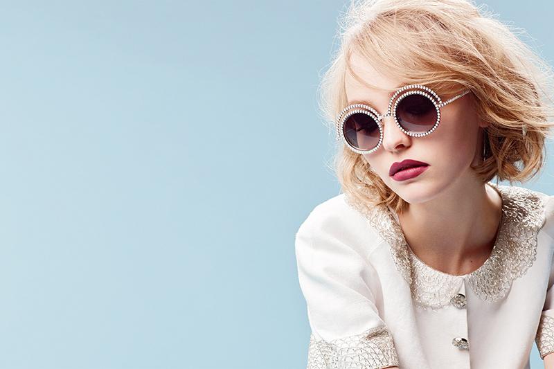 Lily Rose Depp w kampanii Chanel