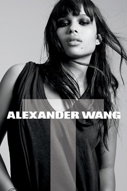 Zoe Kravitz w kampanii Alexandra Wanga