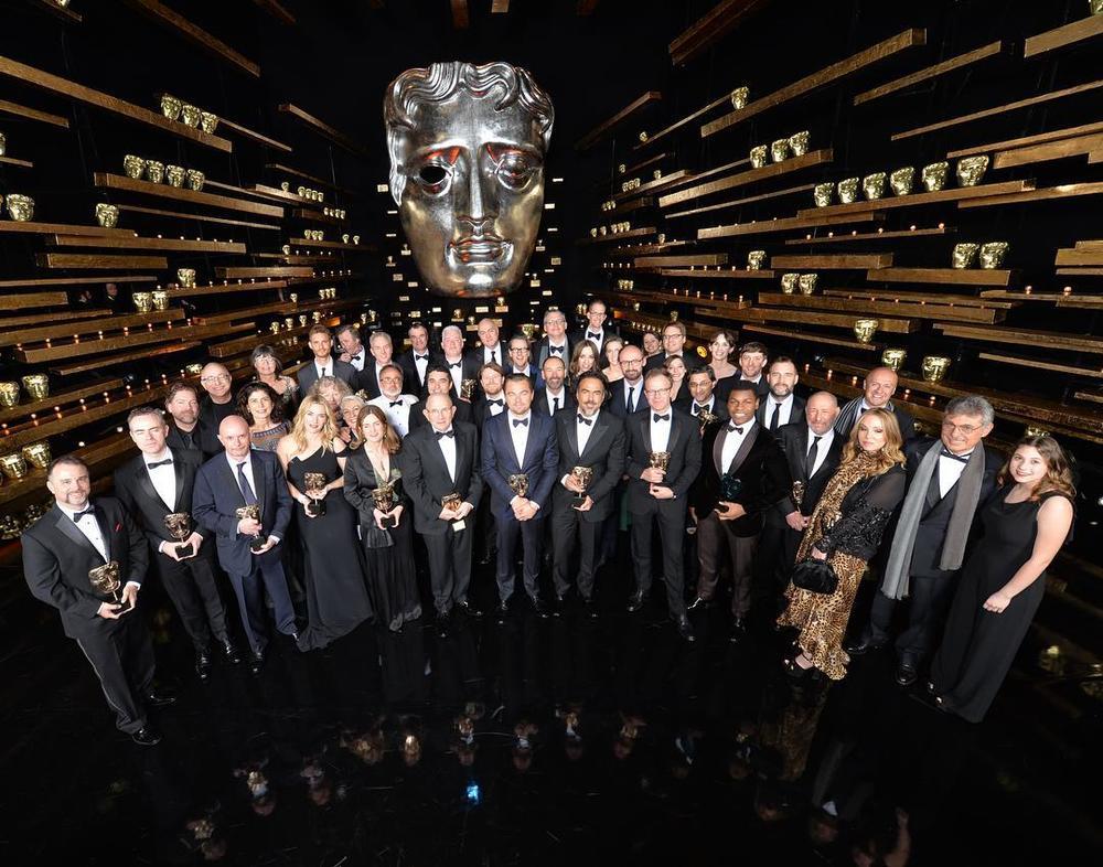 Wszyscy nagrodzeni podczas gali BAFTA 2016/Instagram: @bafta