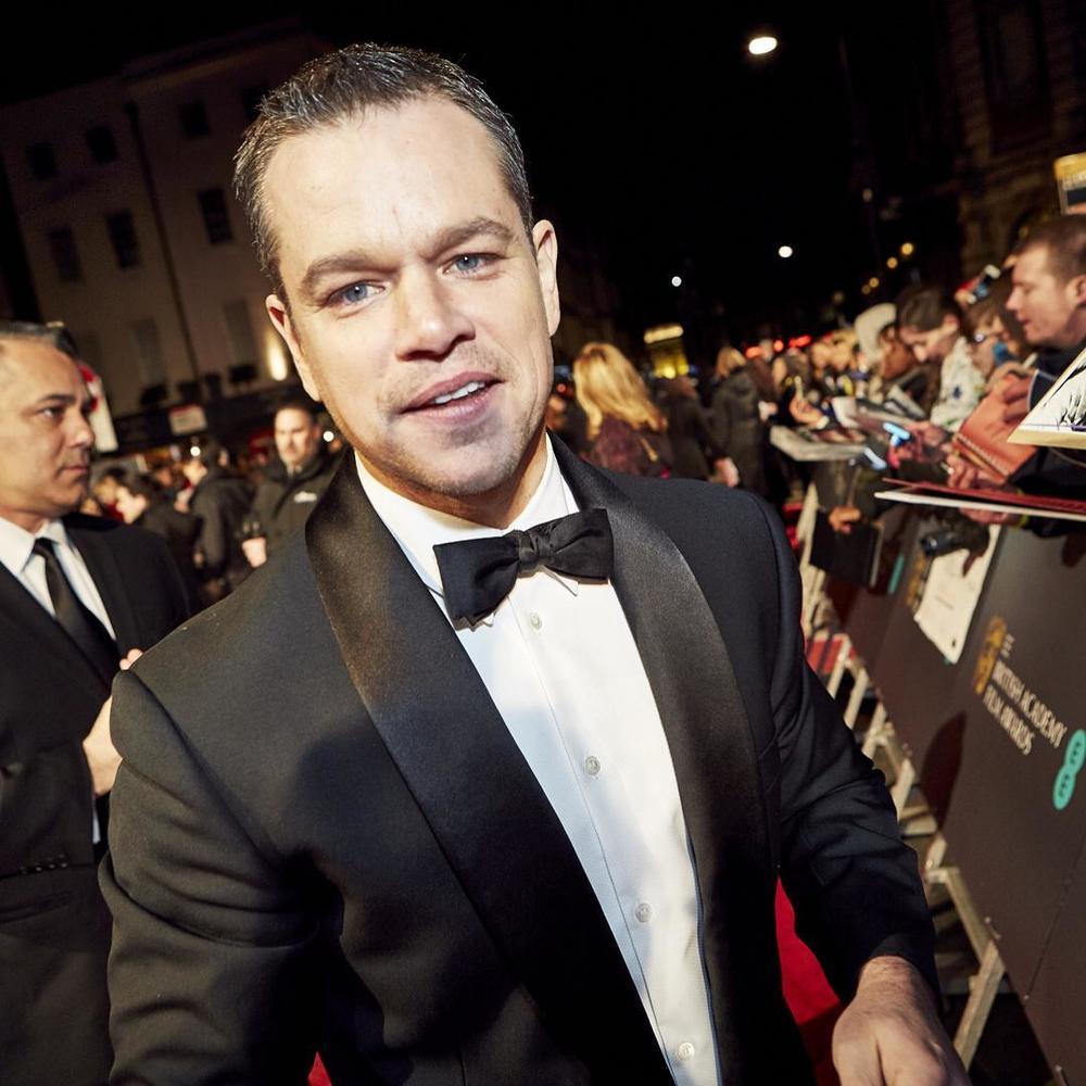 Matt Damon/Instagram: @bafta