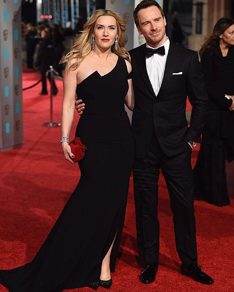 Kate Winslet i Michael Fassbender/Instagram: @buro247ru