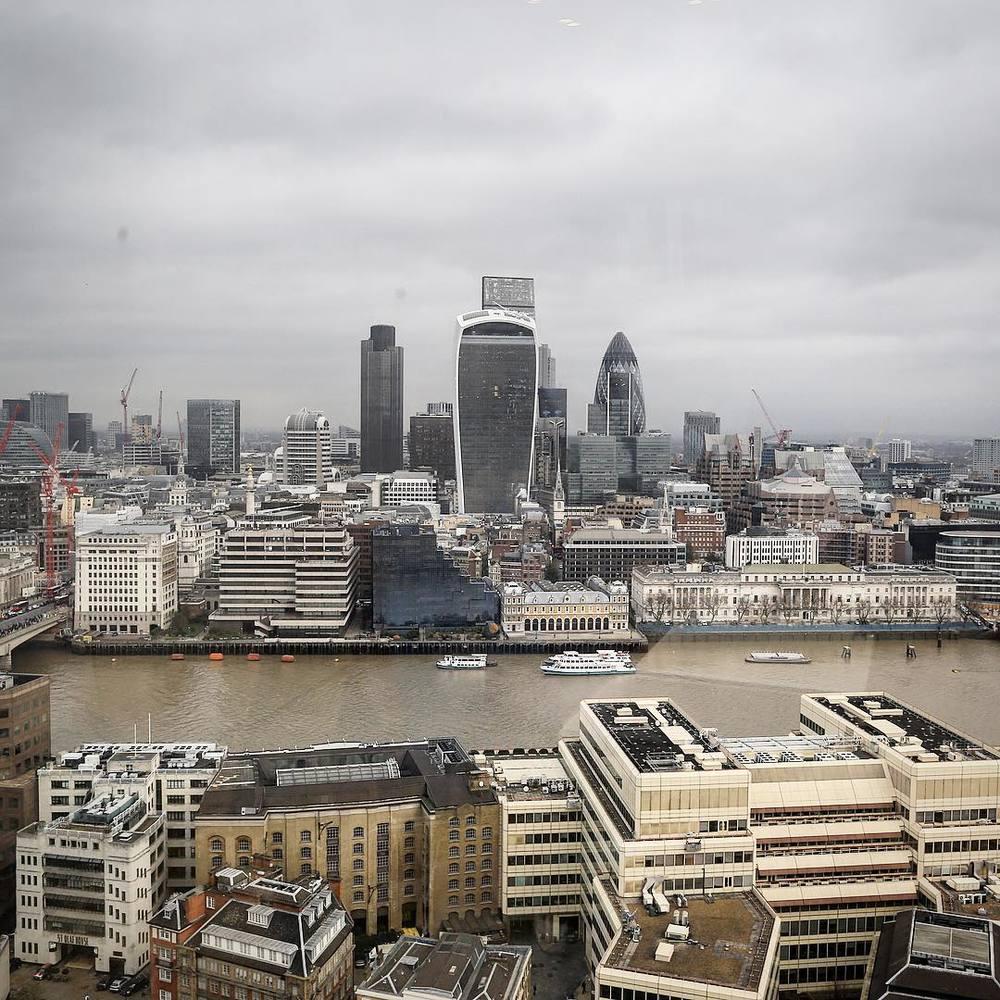 Widok na Londyn z wieżowca The Shard/Instagram: @britishfashioncouncil