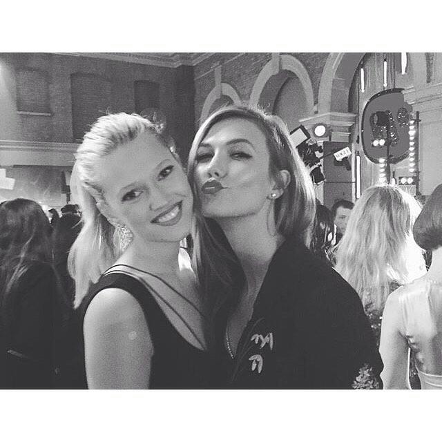 Toni Garrn i Karlie Kloss/Instagram: @toni_kloss