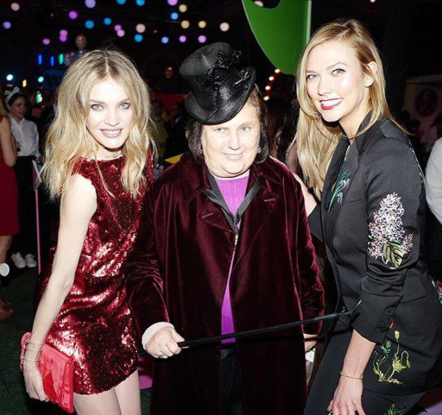 Natalia Vodianova, Suzy Menkes i Karlie Kloss/Instagram: @vogueparis