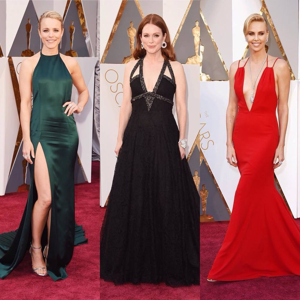 Rachel McAdams, Julianne Moore i Charlize Theron/Instagram: @buro247ru