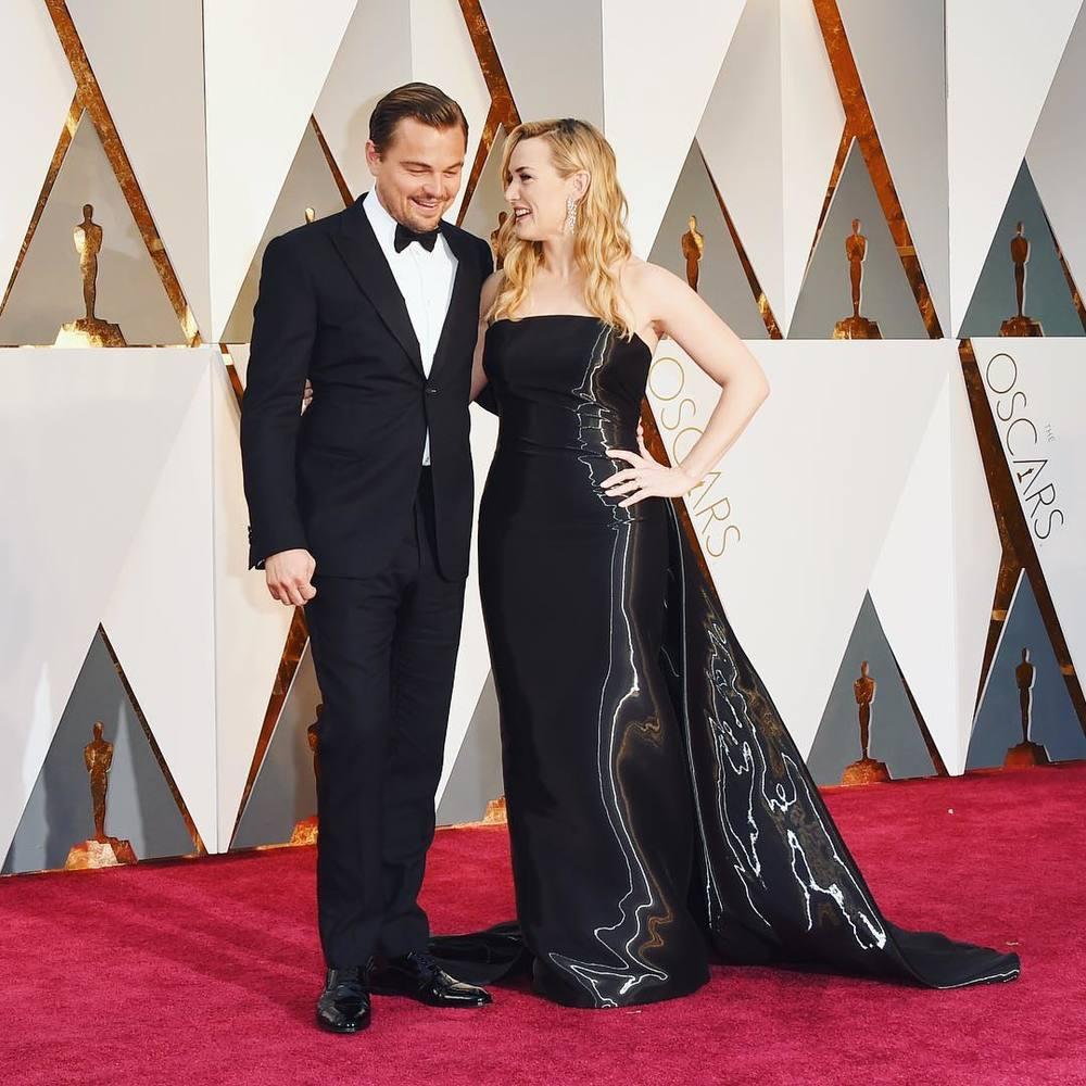 Leonardo DiCaprio i Kate Winslet/Instagram: @buro247singapore