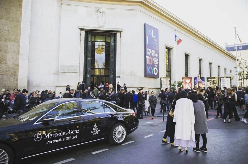 Palais de Tokyo - budynek,w którym odbywają się pokazy mody podczas Paris Fashion Week/Instagram: @parisfashionweek
