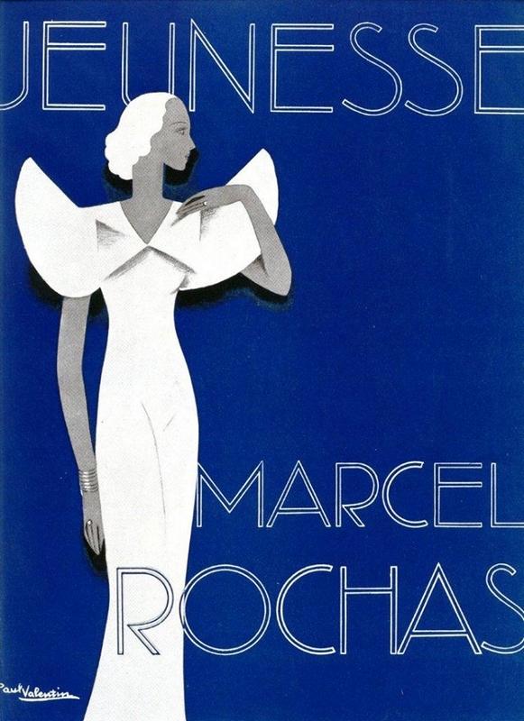 Okładka Vogue z lat 30. XX wieku