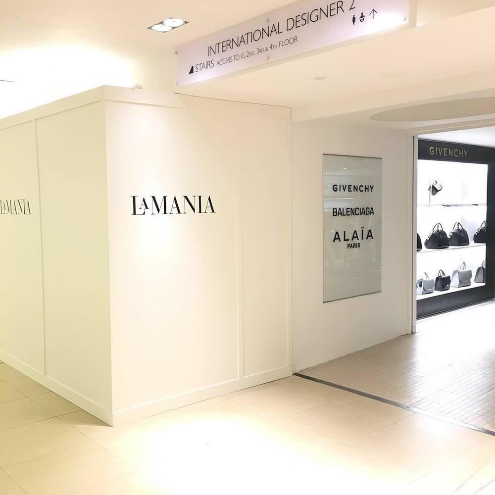 Shop-in-shop La Manii w Harrodsie tuż przed otwarciem/Instagram: @lamaniafashion