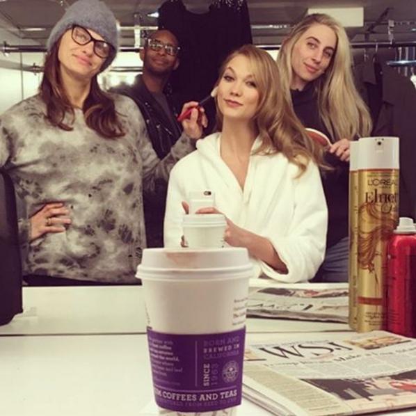 Karlie Kloss/Instagram @karliekloss
