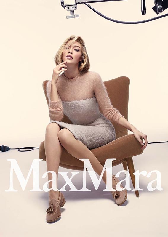 Gigi Hadid dla Max Mara