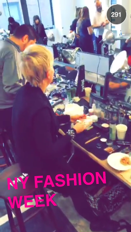 fot. Louis Vuitton-LVLive Snapchat story