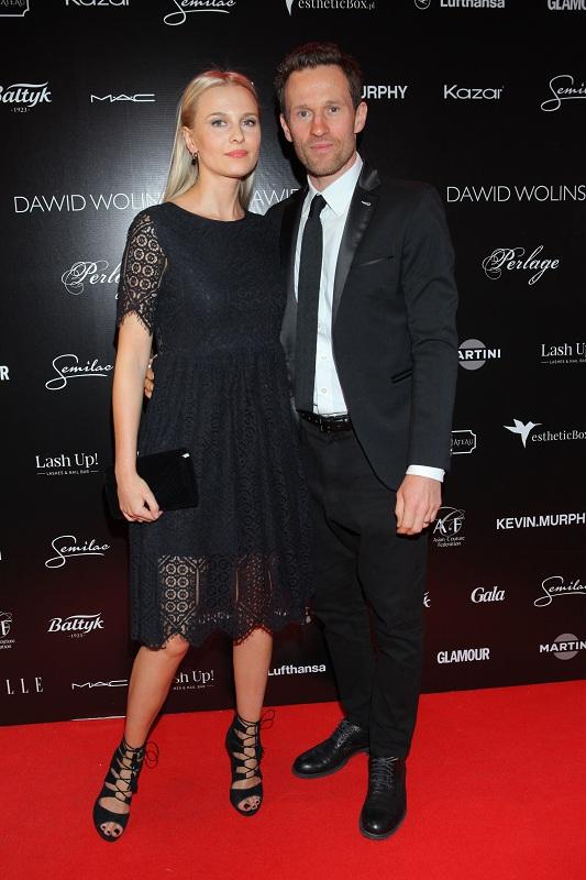 Mariusz Czerkawski z żoną/fot. Studio69