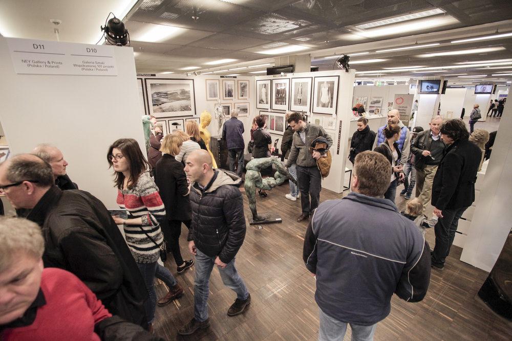 Hala wystawiennicza-fot. materiały prasowe Art Fair