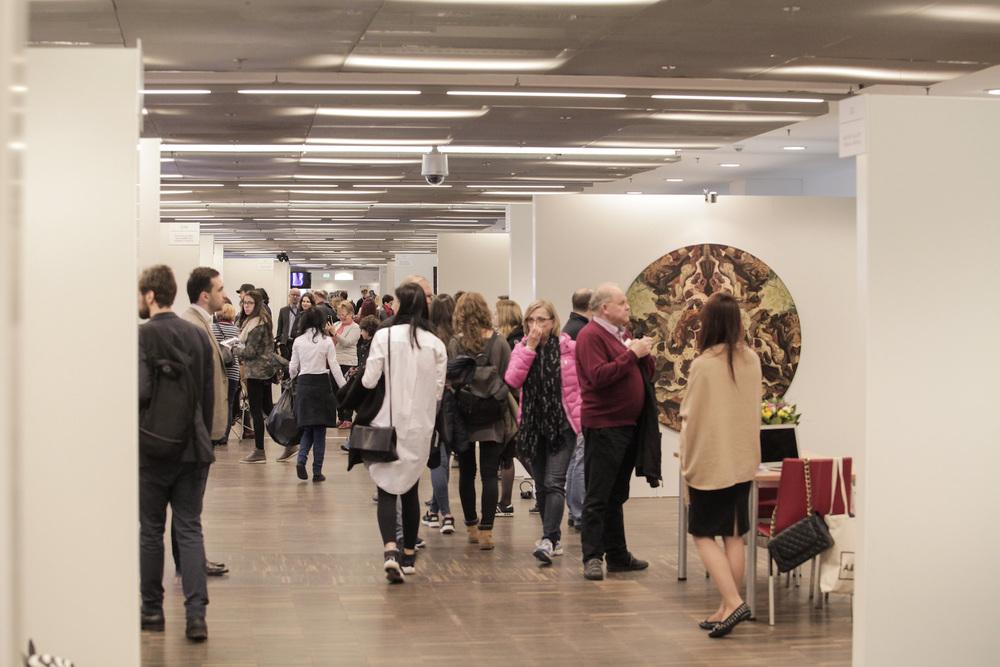 Hala wystawców-fot. materiały prasowe Art Fair