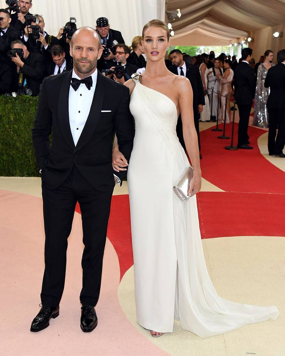 Rosie Huntington-Whiteley i Jason Statham/Instagram: @buro247ru