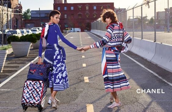 fot. Chanel Spring Summer 2016 Campaign