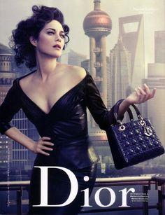 fot. Marion Cotillard for Dior 2010