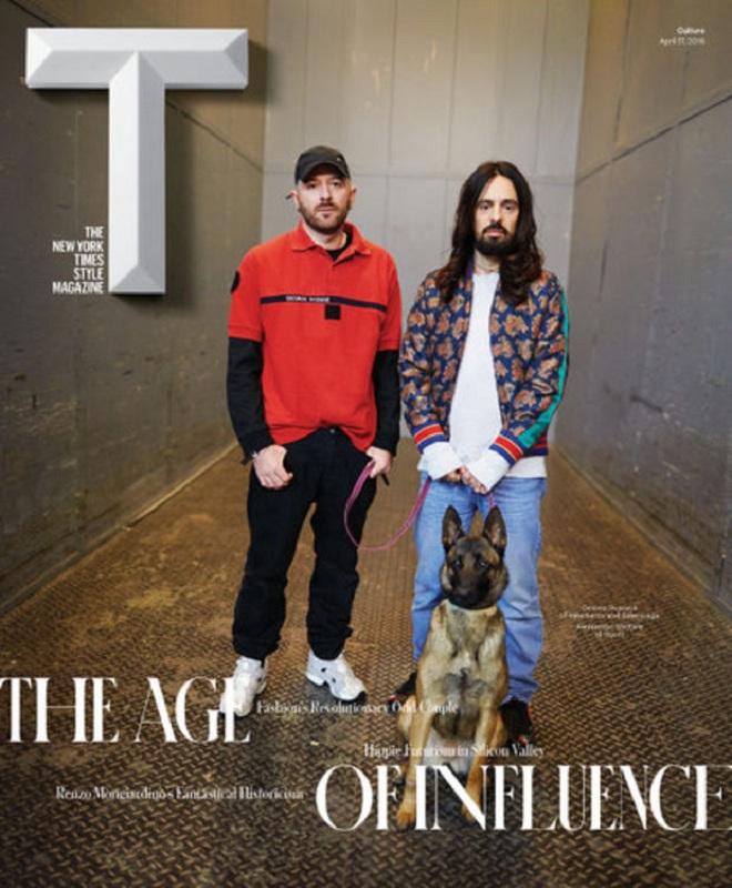 Okładka T magazine