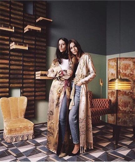 Założycielki marki Attico -Gilda Ambrosio i Giorgia Tordini/Instagram: @the_attico
