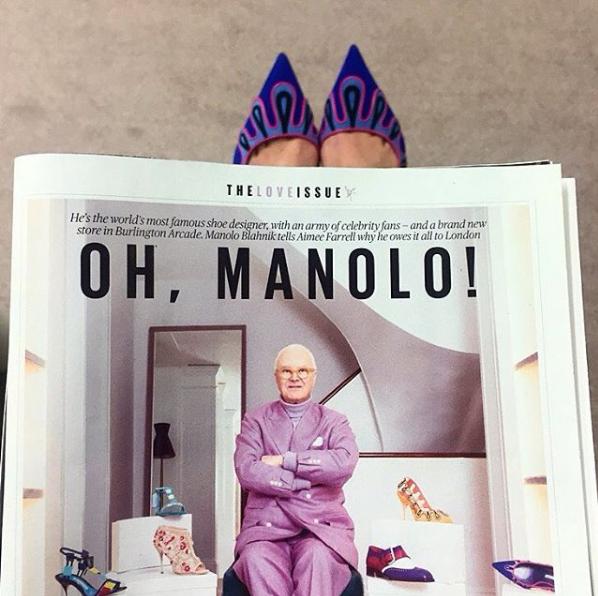 Manolo Blahnik/Instagram @manoloblahnikhq