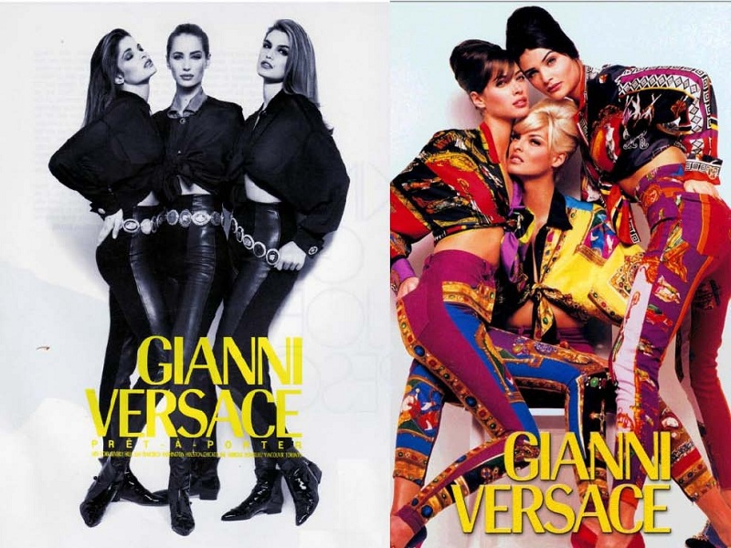 Gianni Versace jesień-zima 1991