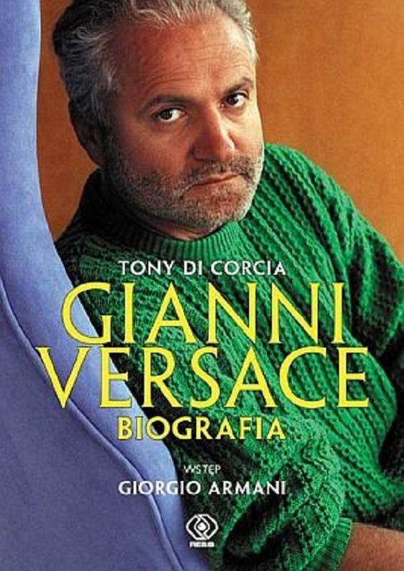 """Okładka książki """"Gianni Versace. Biografia."""""""