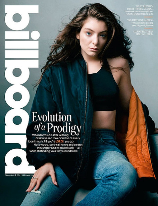 Okładka magazynu Billboard listopad 2014