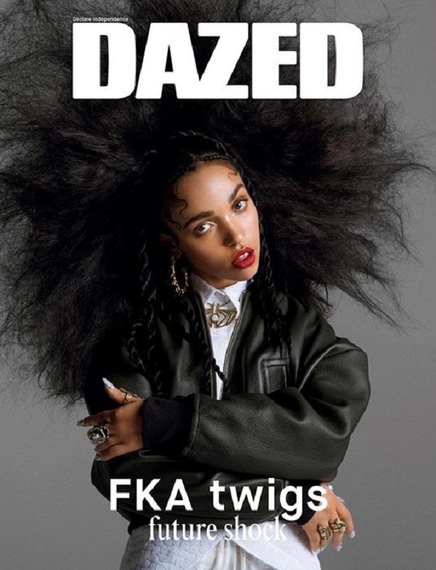 Okładka magazynu Dazed 2014