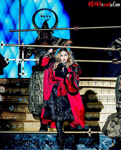 Madonna kostium Arianne Phillips/Instagram @mdna.revolution
