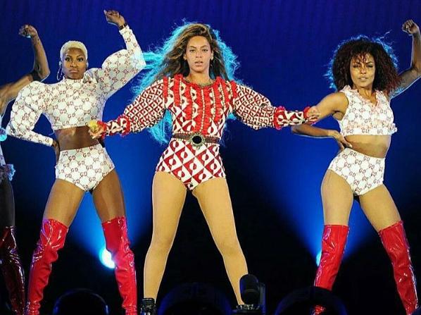 Beyonce kostium Gucci/Instagram @beyslayy
