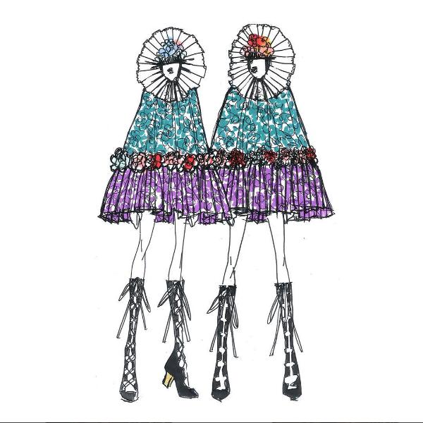 Madonna szkic kostiumu Gucii/Instagram @gucci